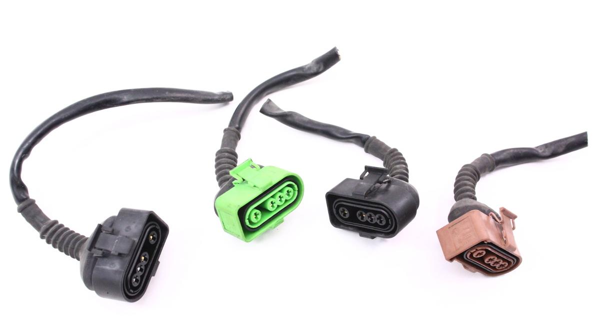 o2 oxygen sensor pigtails wiring plugs harness audi a6 a4 vw passat 2 8 v6 30v ebay