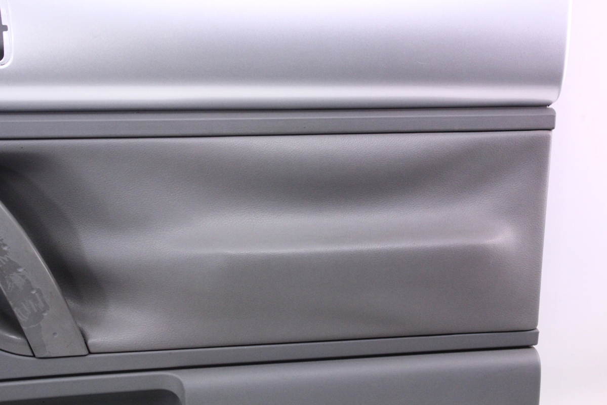 rh front interior door panel   vw beetle interior trim silver grey