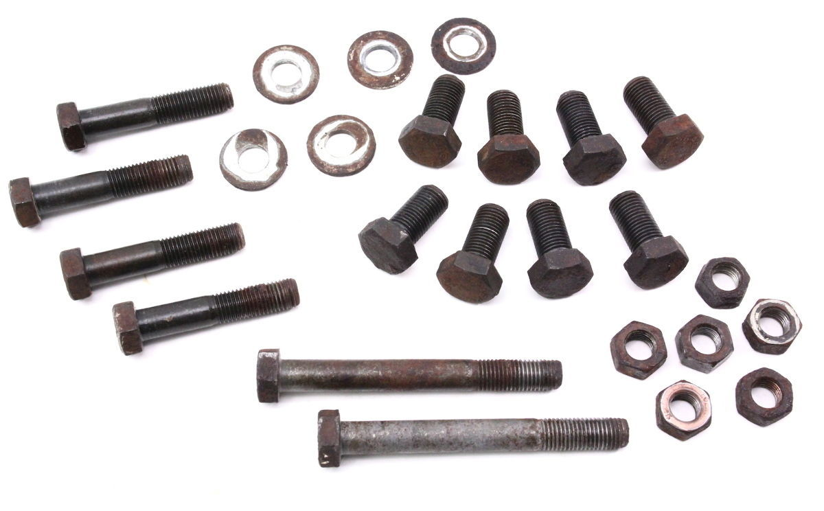 Rear Suspension Hardware Bolts Nuts 80-91 VW Vanagon T3 Westfalia