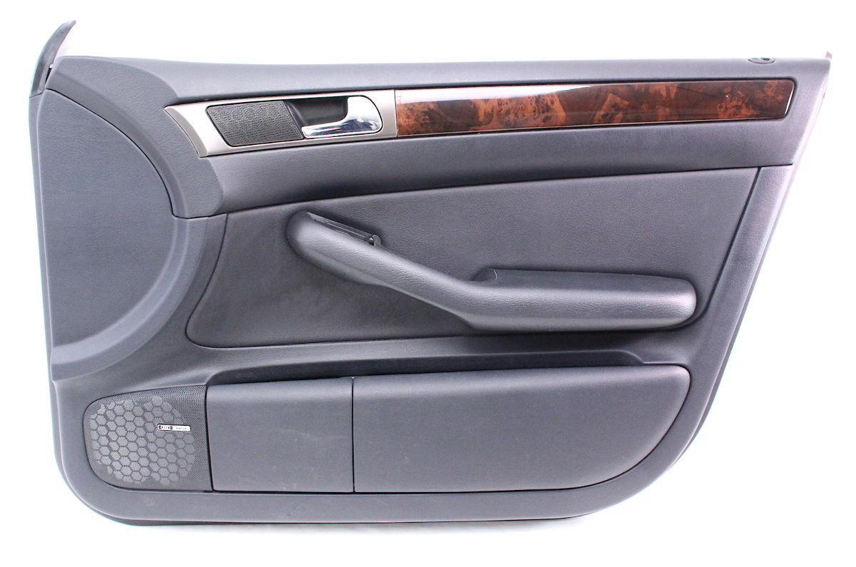 rh front interior door panel card trim 98 04 audi a6 c5 genuine carparts4sale inc. Black Bedroom Furniture Sets. Home Design Ideas