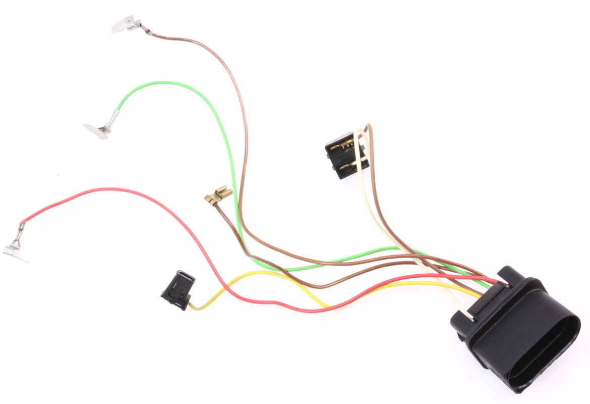 internal headlight bulb wiring harness 98 01 audi a6 c5 01. Black Bedroom Furniture Sets. Home Design Ideas