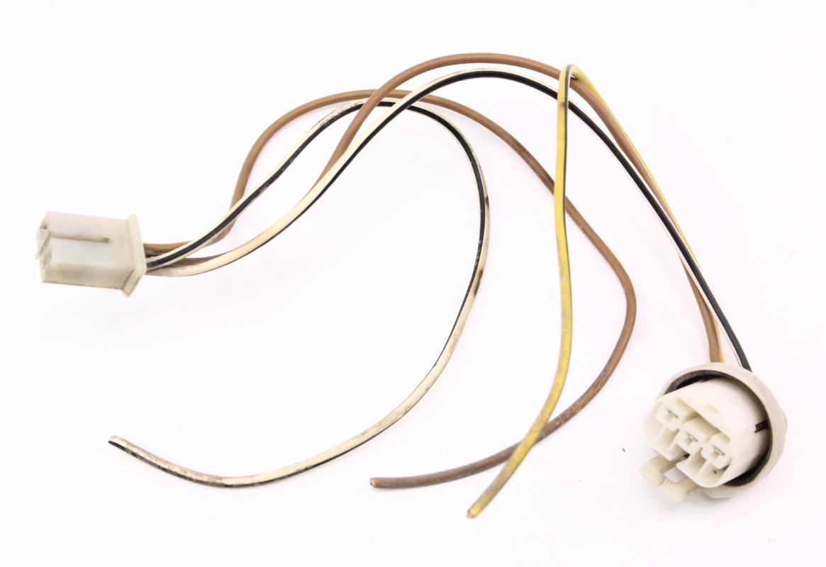 headlight wiring harness pigtails plugs 86 91 vw vanagon t3 light l ebay