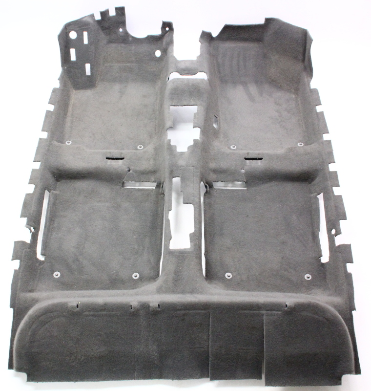 Interior Floor Carpet Grey 99-05 VW Jetta Golf MK4 - Genuine - 1J1 863 367 T