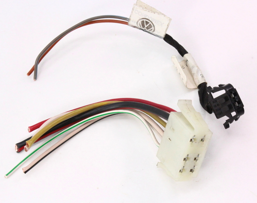 climate controls wiring harness pigtail plugs 93 99 vw jetta golf mk3 cabrio carparts4sale inc