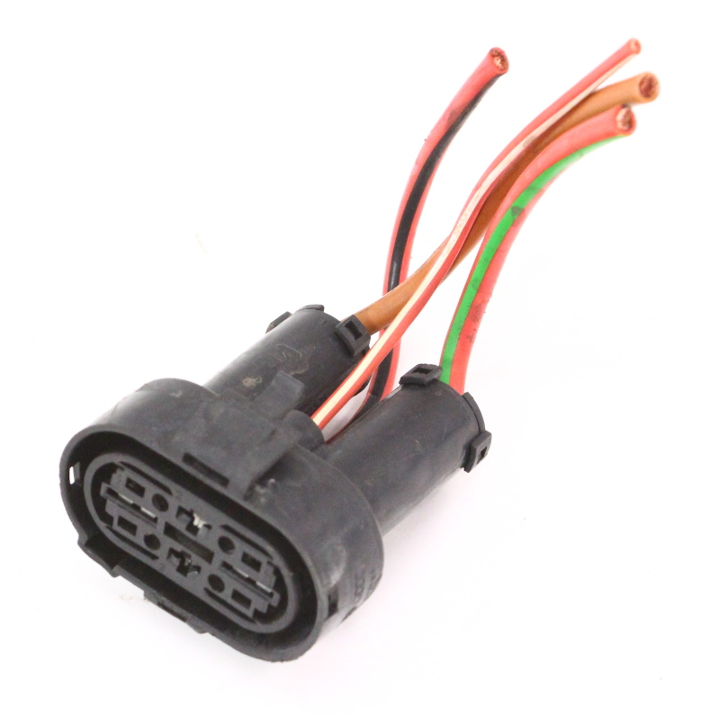 Radiator electric fan motor plug pigtail wiring connector for Electric motors of iowa city