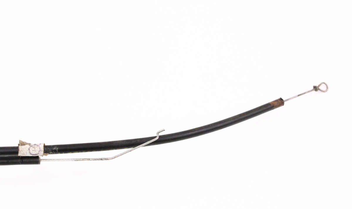 heaterbox flap cables vw rabbit jetta 81