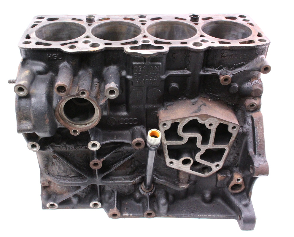 engine cylinder bare block 1 9 tdi alh 99 04 vw jetta golf. Black Bedroom Furniture Sets. Home Design Ideas