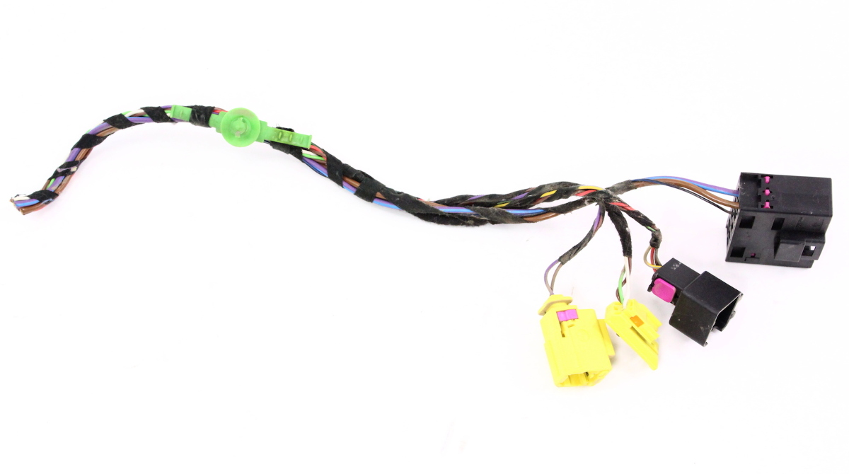 rh front seat wiring harness pigtail plugs connectors 08 10 vw jetta golf mk5 ebay