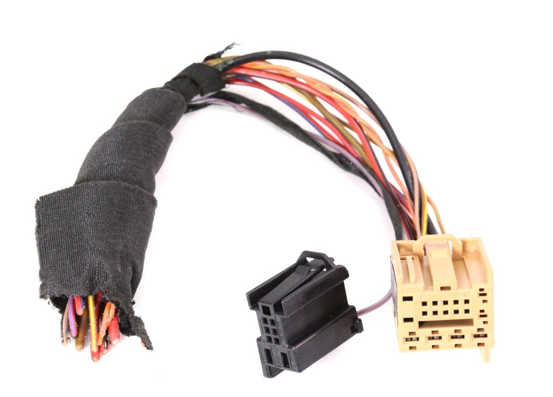 ccm comfort module plugs pigtail 05 10 vw jetta rabbit. Black Bedroom Furniture Sets. Home Design Ideas