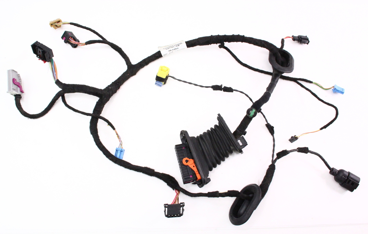 Wiring Harness Volkswagen Jetta : Vw door wiring diagram free engine image for user