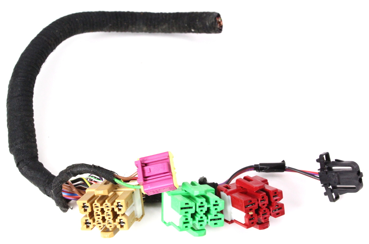 lh front under seat wiring plugs pigtail connectors 02 04. Black Bedroom Furniture Sets. Home Design Ideas