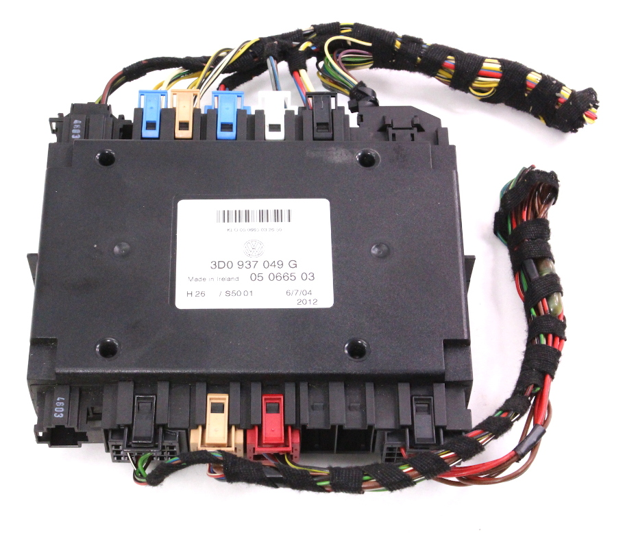 Where Is The Body Control Module On: Central Electronics Body Control Module 04-06 VW Phaeton