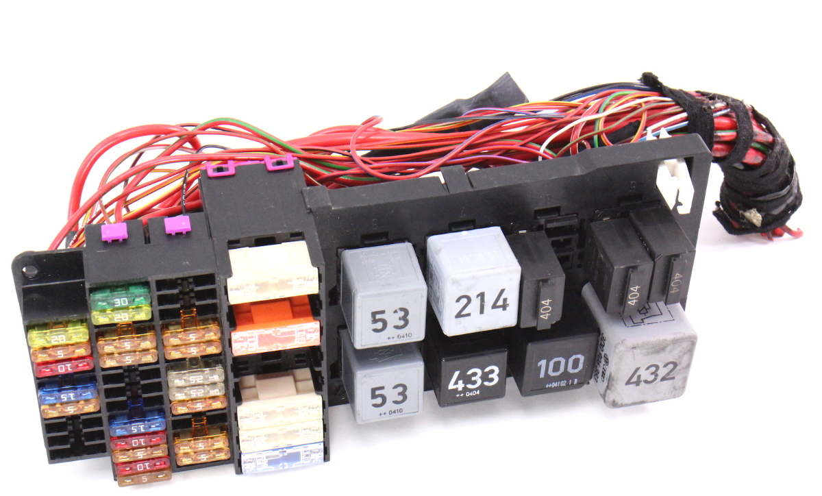 Trunk Fuse Relay Box 04-06 Vw Phaeton