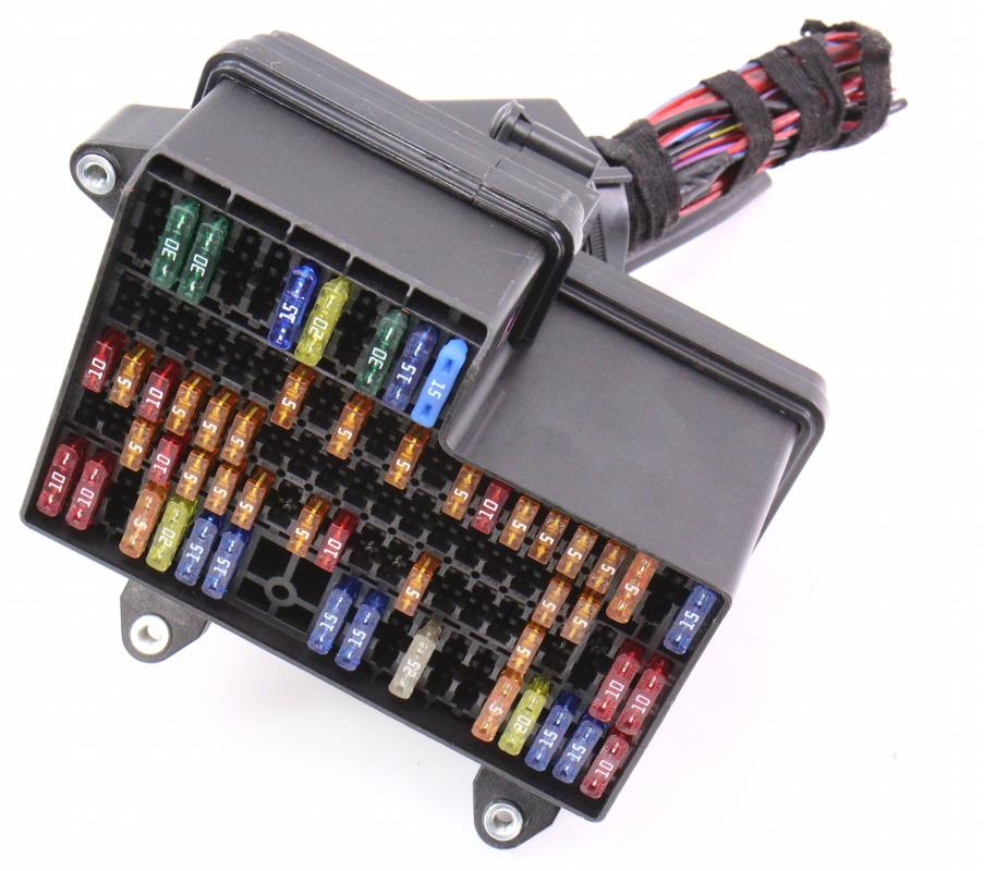 dash fuse panel box 04 06 vw phaeton ebay. Black Bedroom Furniture Sets. Home Design Ideas