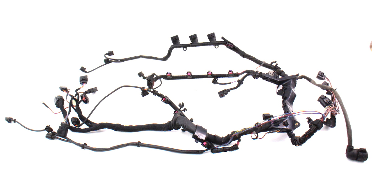 engine wiring harness 2004 vw phaeton genuine 4 2 v8. Black Bedroom Furniture Sets. Home Design Ideas