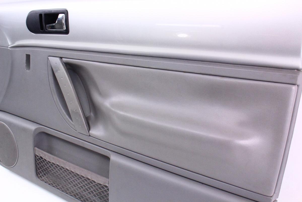 RH Front Interior Door Panel 98-05 VW Beetle Interior Trim - LG9R Silver / Grey   CarParts4Sale ...
