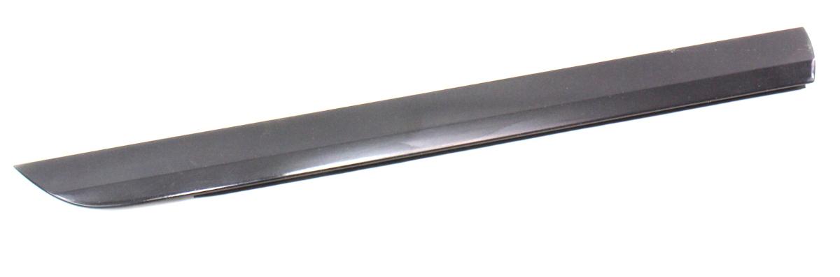 rh rear  door trim blade molding   audi  lyb black ebay