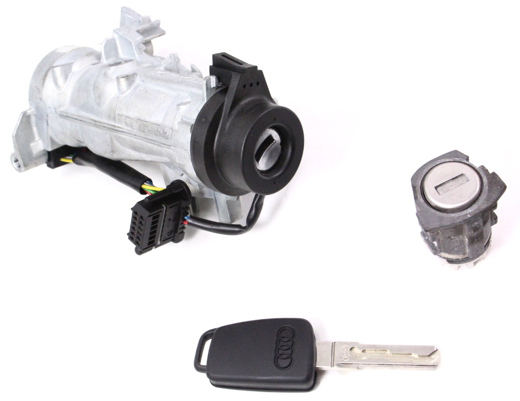 Lock Key Ignition Set 06-08 Audi A3