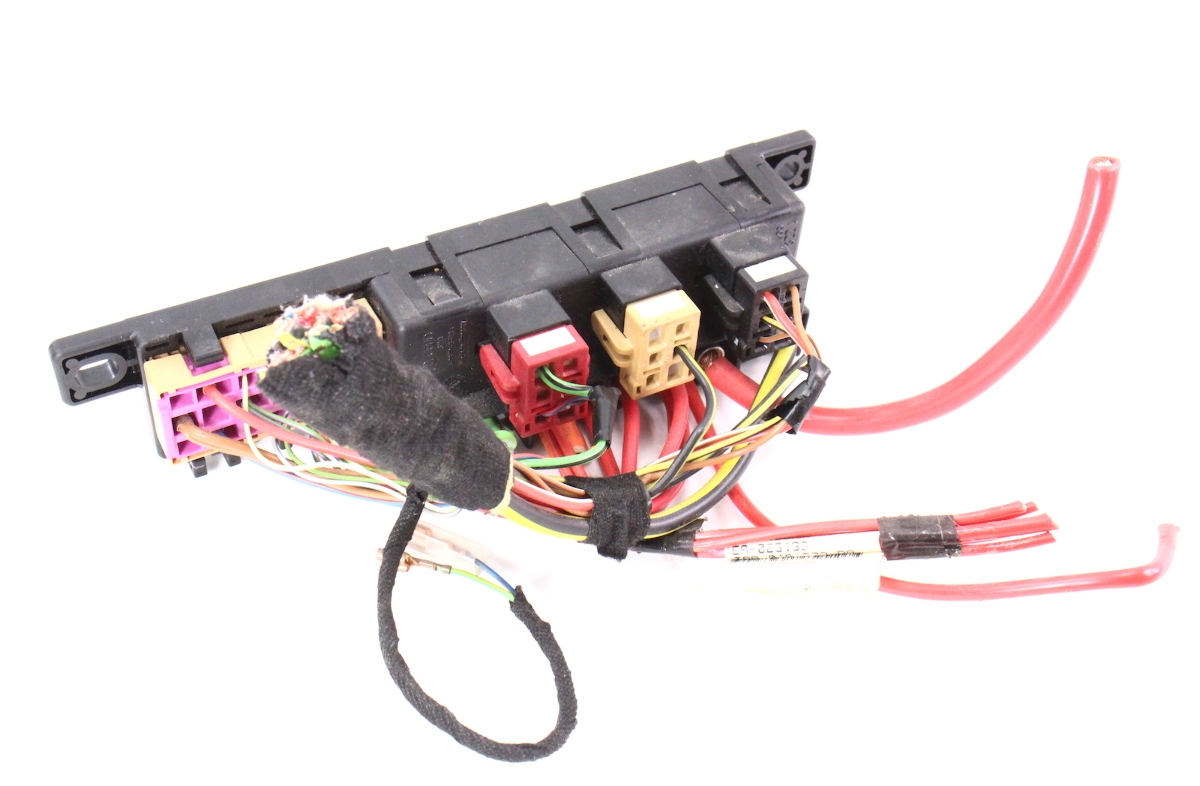 dash relay block panel box & wiring pigtail 98-04 audi a6 ... audi tt dashboard wiring harness audi tt haldex wiring diagram