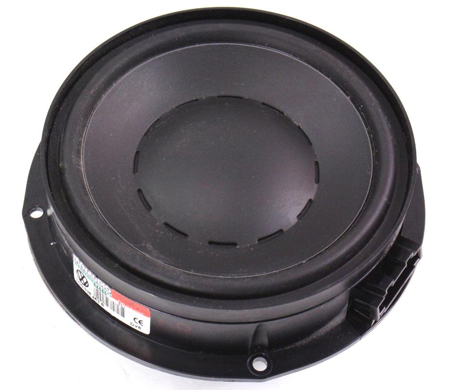 rear dynaudio speaker woofer   vw passat      ebay