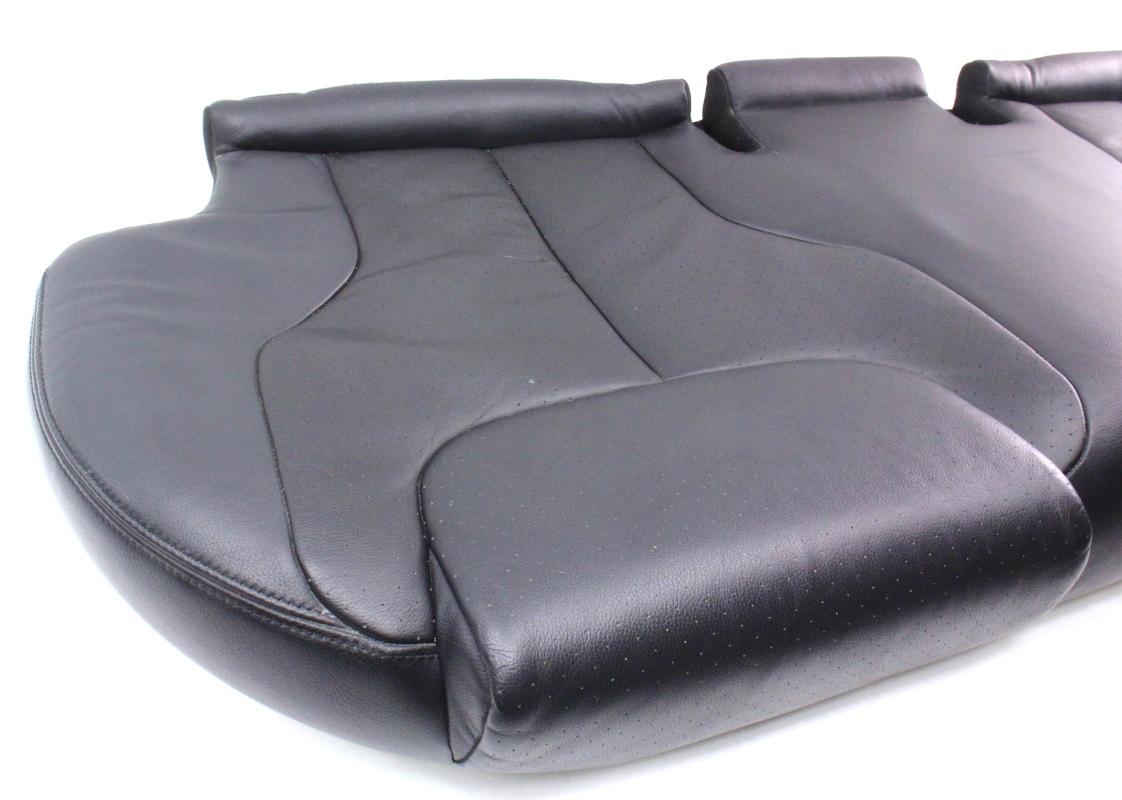 Back Rear Seat Cushion Bench Black Leather 06 10 Vw Passat