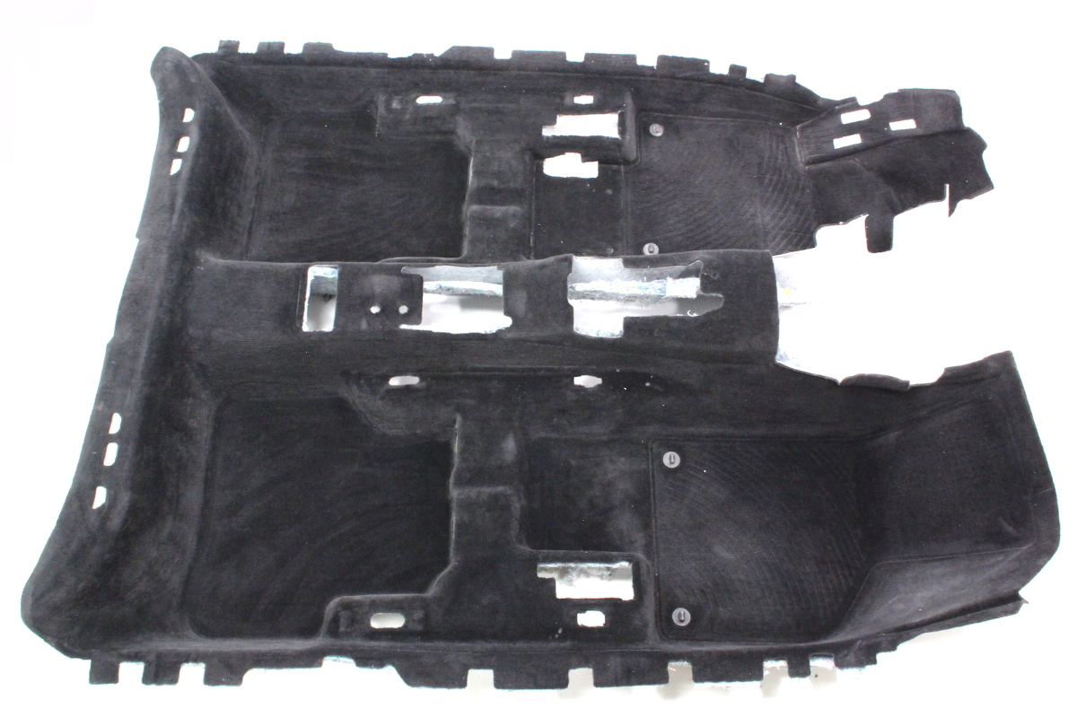 Interior Floor Carpet 06 10 Vw Passat B6 Black Genuine Carparts4sale Inc