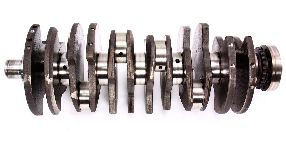 Crank Shaft Crankshaft 06 10 Vw Passat B6 3 6l Vr6 Blv