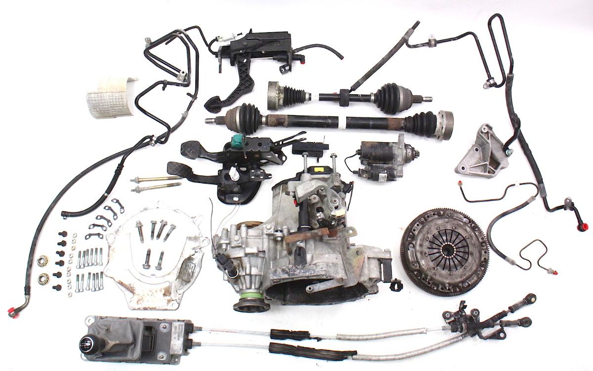 manual transmission swap parts kit 99 05 vw jetta golf. Black Bedroom Furniture Sets. Home Design Ideas