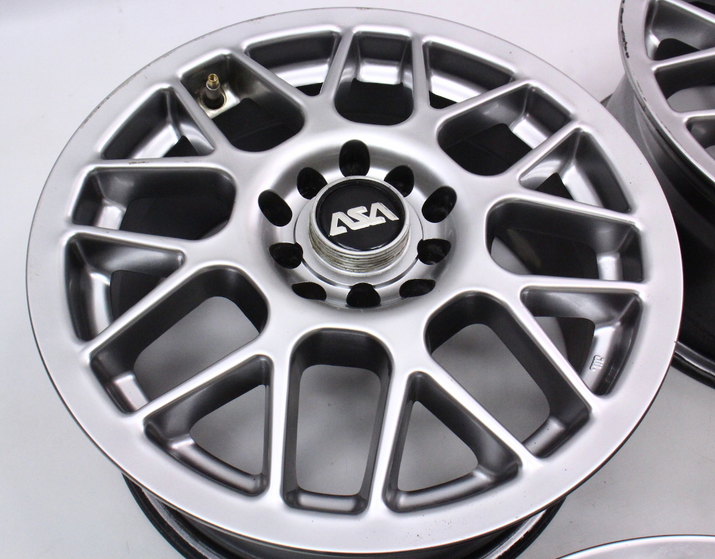 set of wheels rims alloy asa mesh 5x100 15 vw jetta golf. Black Bedroom Furniture Sets. Home Design Ideas
