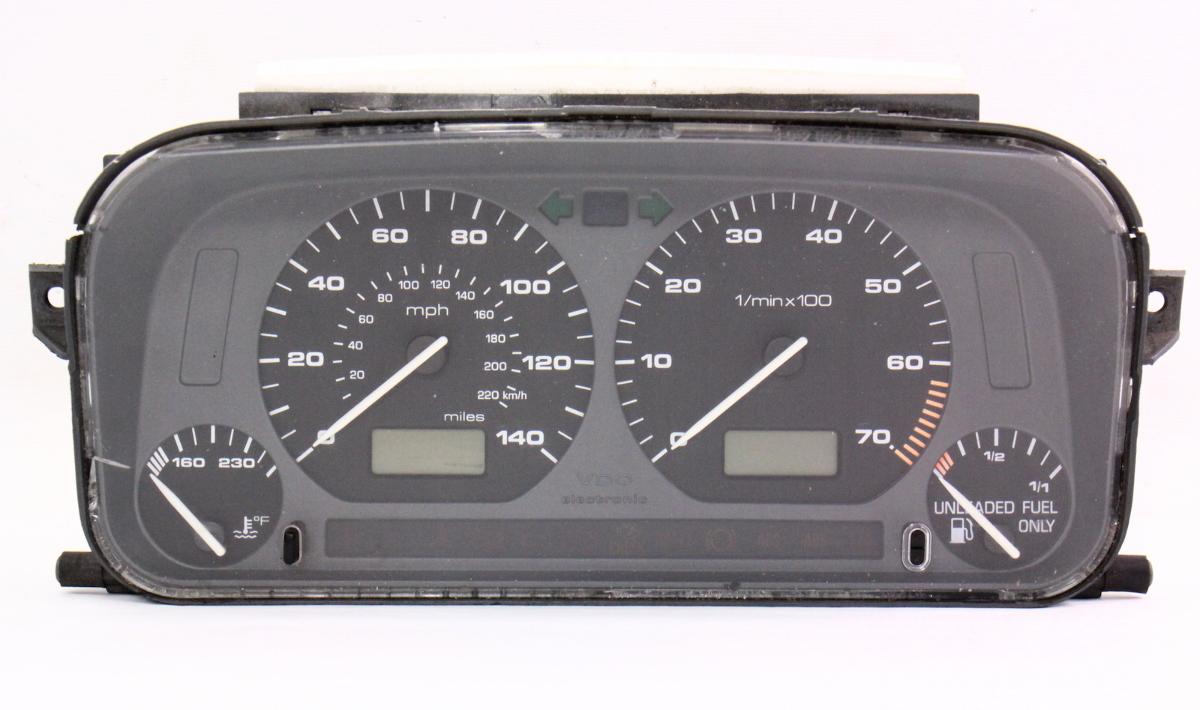 gauge instrument cluster speedometer 96 99 jetta golf. Black Bedroom Furniture Sets. Home Design Ideas