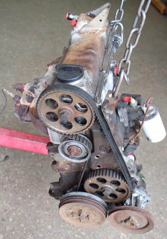 1 8 8v Engine Motor Long Block - Jh