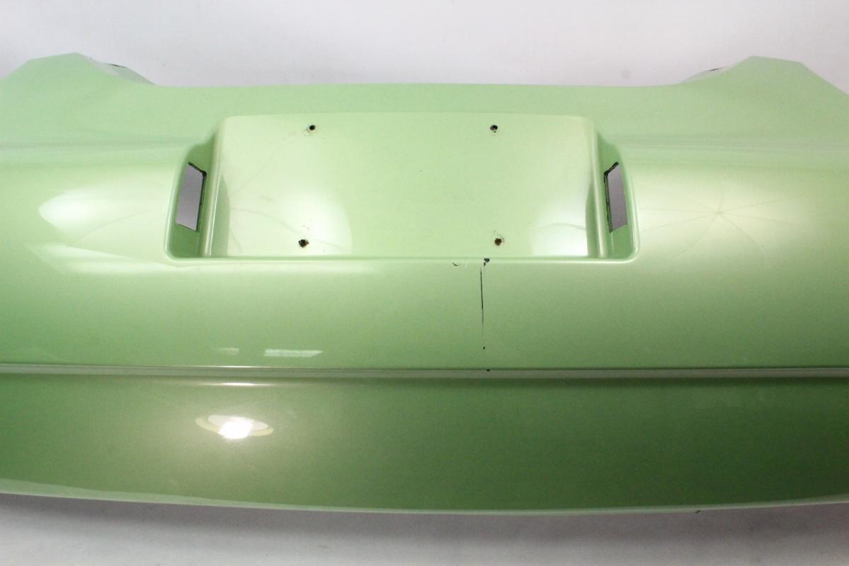 rear bumper cover   vw beetle lgv cyber green genuine     carpartssale