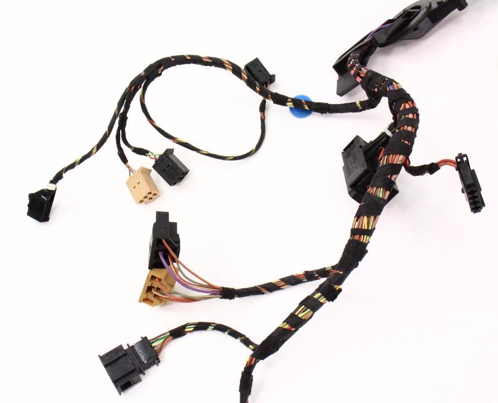 driver front door wiring harness 98 05 vw beetle genuine. Black Bedroom Furniture Sets. Home Design Ideas