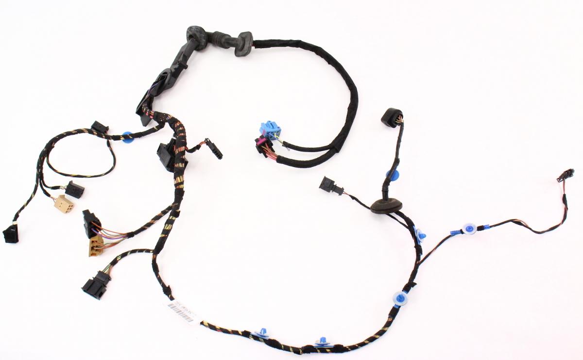 Driver front door wiring harness 98 05 vw beetle genuine for 06 jetta driver door harness