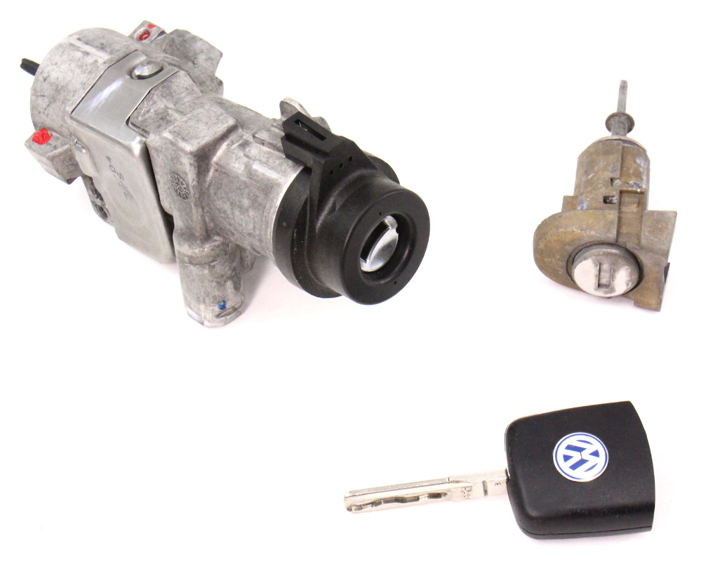Ignition Lock Set Key Door Handle 98 05 Vw Beetle Coupe 4b0 905 851 F Carparts4sale Inc