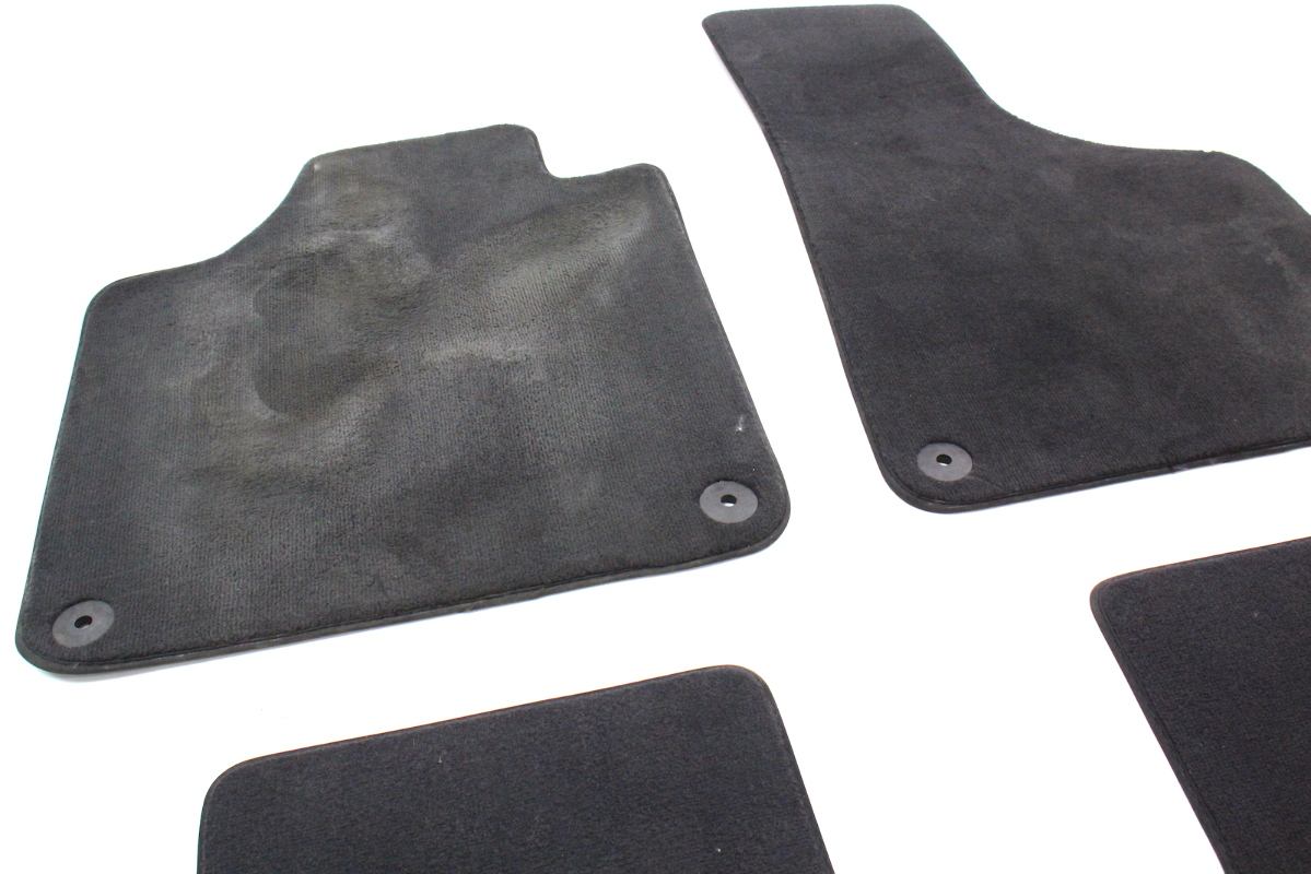 Vauxhall zafira rubber floor mats - Interior Floor Mats Carpet 06 13 Audi A3 Genuine Black 8p1