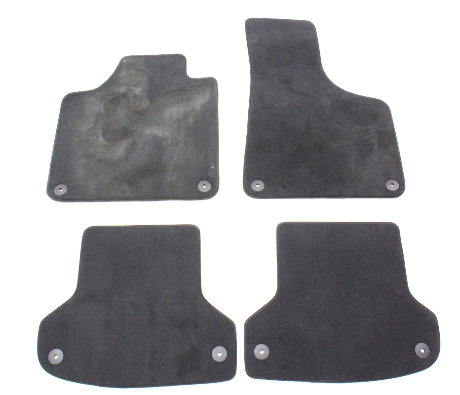 Interior Floor Mats Carpet 06 13 Audi A3 Genuine Black