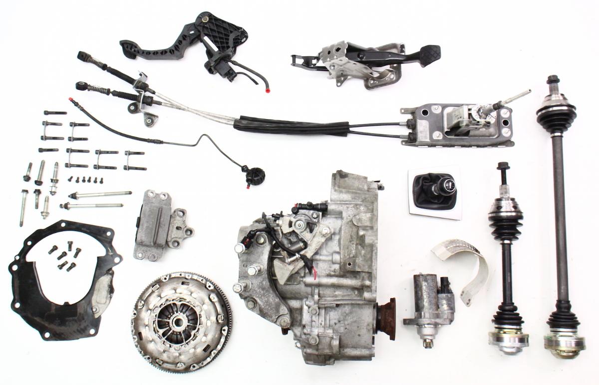 6 speed manual transmission swap kit 05 10 vw jetta gli. Black Bedroom Furniture Sets. Home Design Ideas