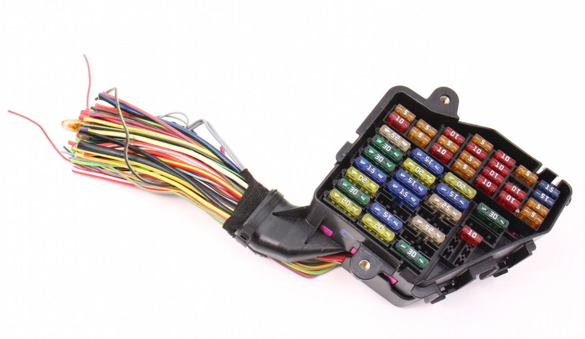 Dash Fuse Box Panel  U0026 Wiring Harness Pigtail 02