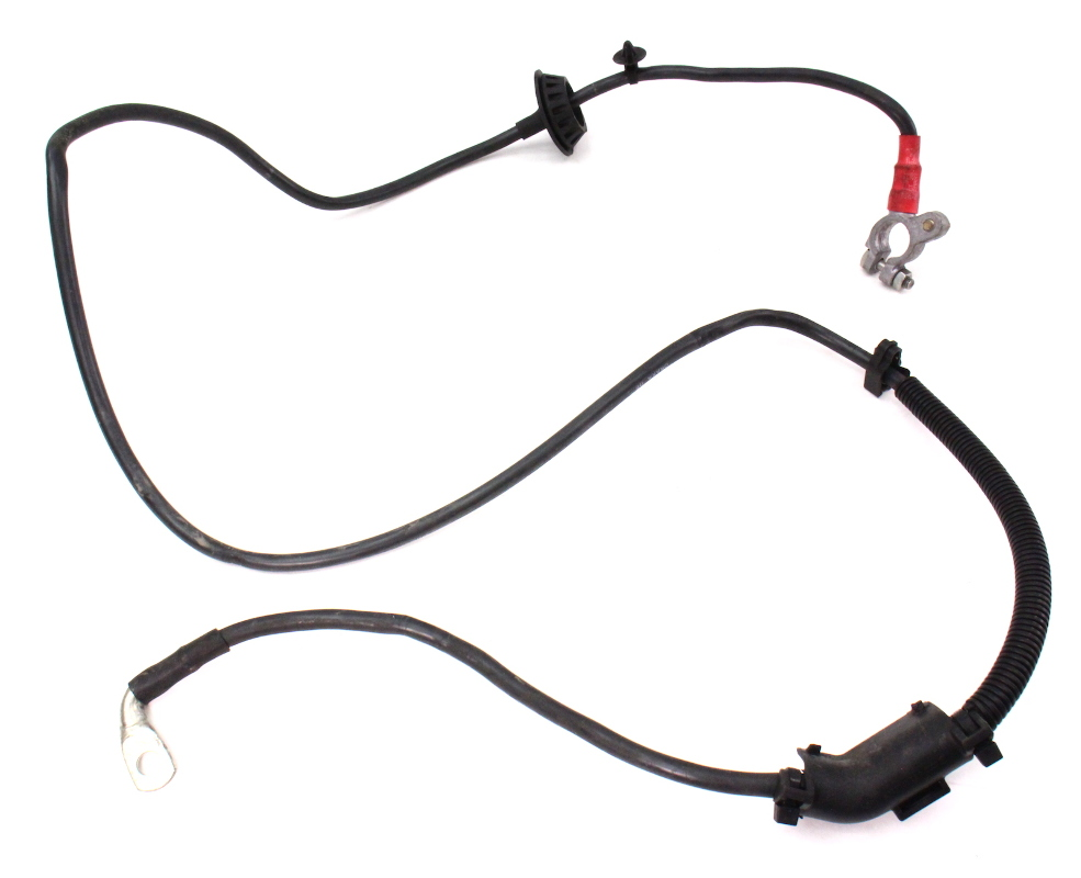 positive battery cable terminal wiring harness 01 05 vw passat b5 5 1 8t ebay