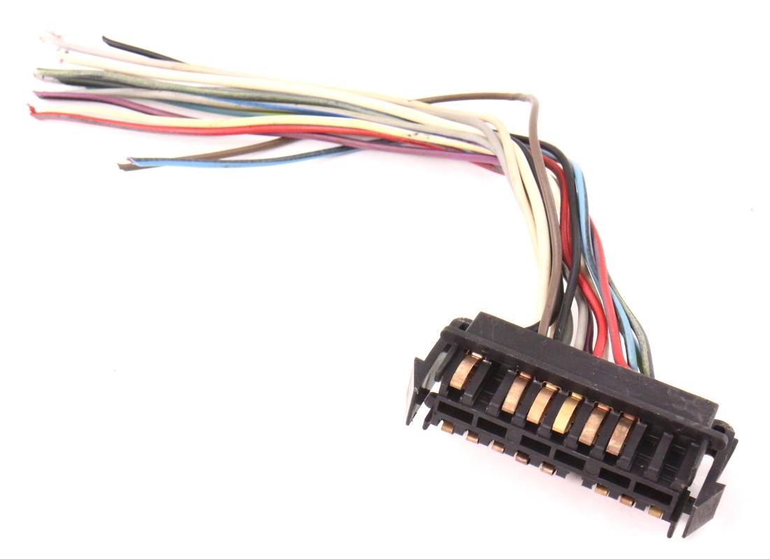 gauge cluster speedometer wiring plug pigtail vw rabbit. Black Bedroom Furniture Sets. Home Design Ideas