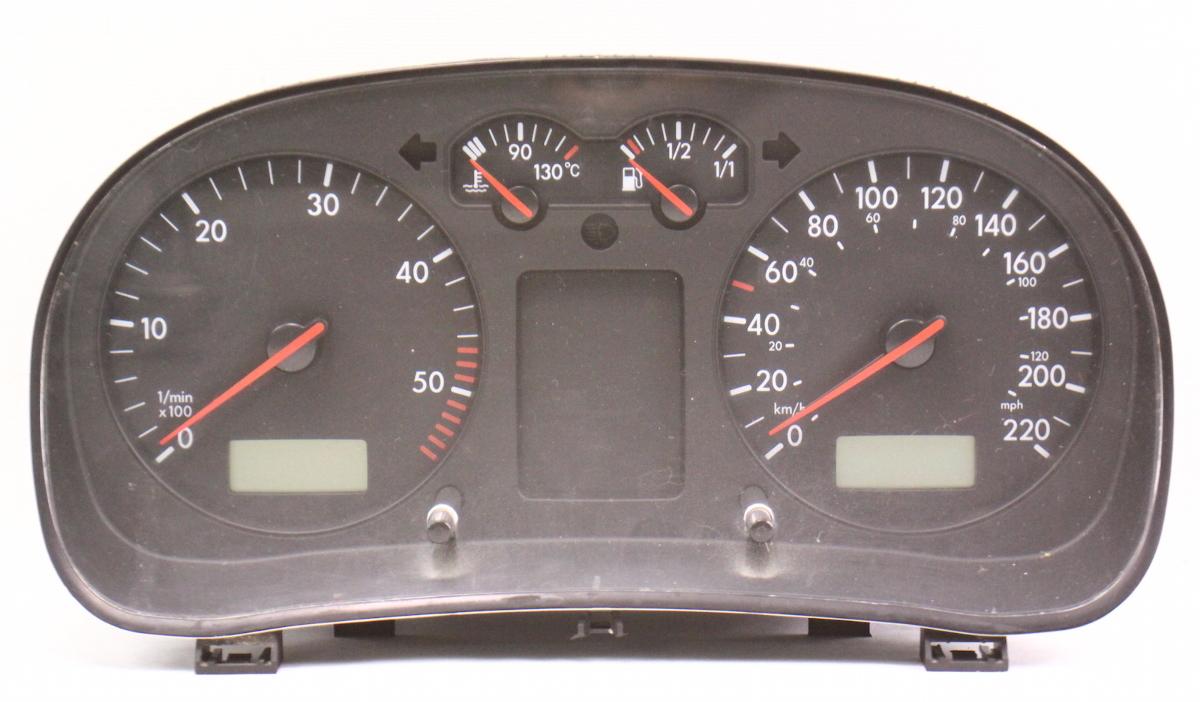2004 Volkswagen Jetta Speedometer Instrument Cluster