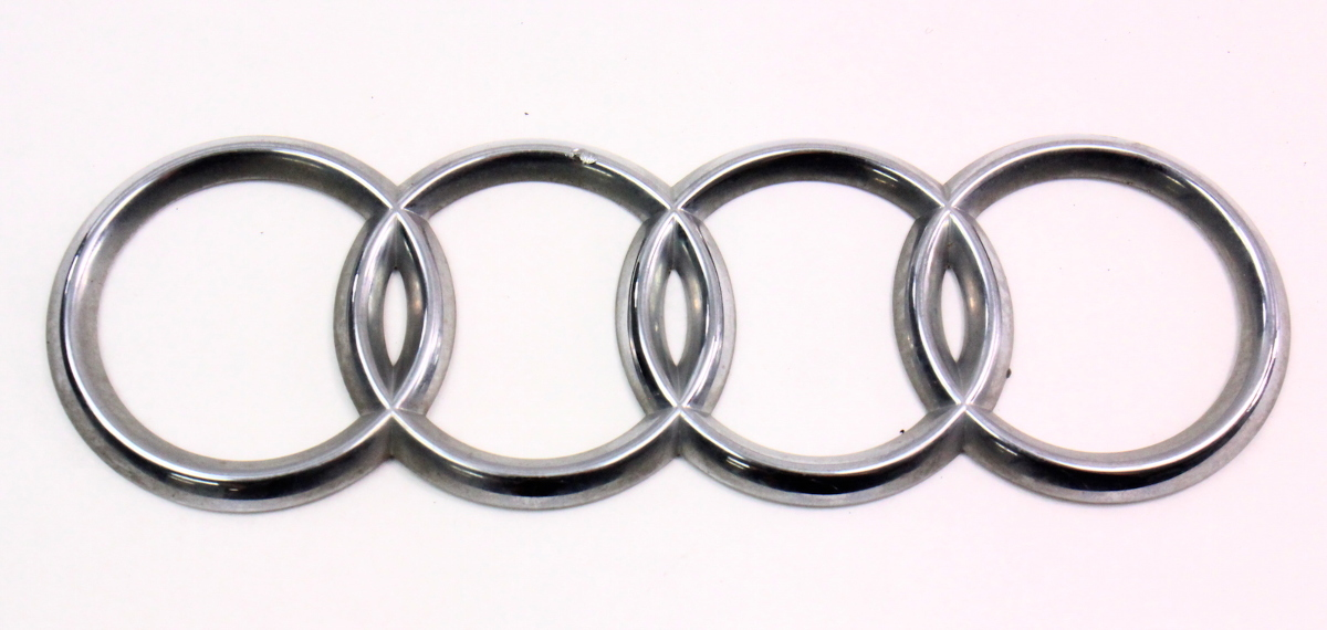 Trunk Rings Emblem Badge 96 02 Audi A4 S4 B5 Genuine