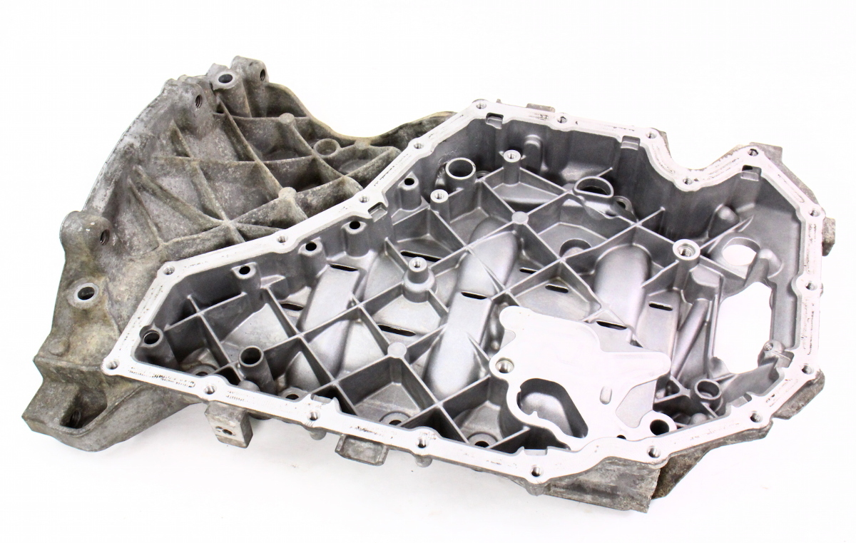Upper Engine Oil Sump Pan 09 12 Audi A4 B8 A5 2 0t Caeb Genuine 06h 103 603 Ak Ebay