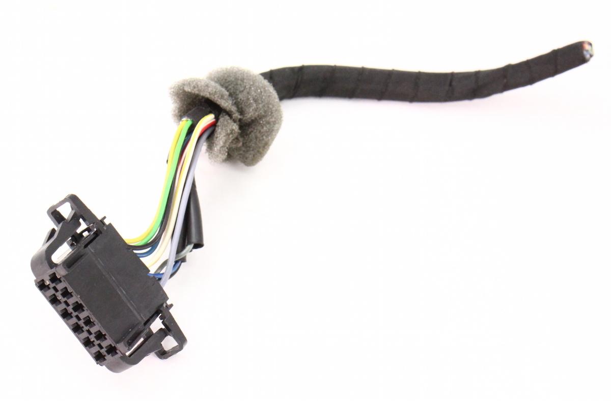 6 Disc Cd Changer Plug Pigtail Wiring Vw Passat B6 Jetta Rabbit Gti 3b0 972 726