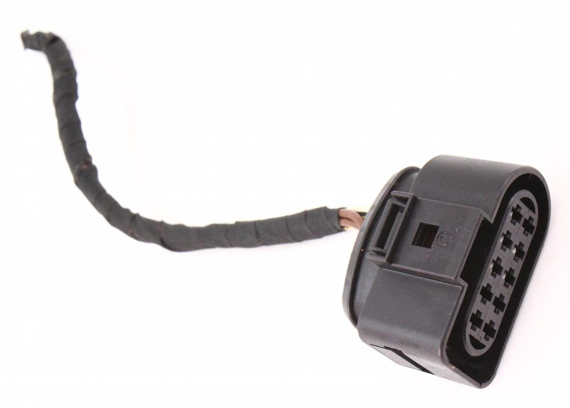 headlight wiring plug pigtail 06 10 vw passat b6 halogen. Black Bedroom Furniture Sets. Home Design Ideas