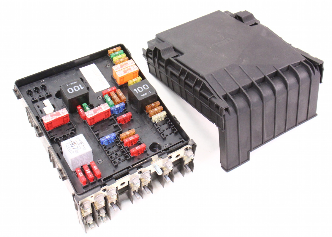 engine bay fuse relay box 06-08 vw passat b6 2.0t ... 08 audi tt fuse box