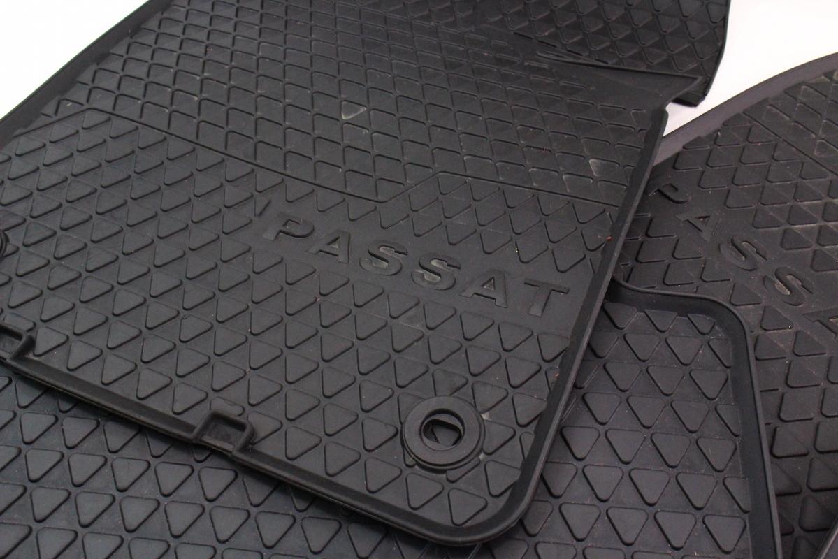 Rubber floor mats vw passat -  Rubber All Weather Floor Mats 06 10 Vw Passat B6 Genuine 3c1 061