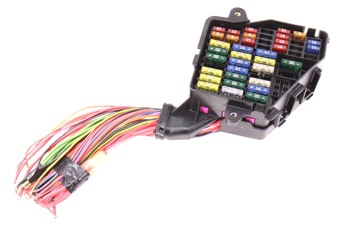 cp037639 dash fuse box panel wiring harness pigtail 02 05 audi a4 b6 genuine dash fuse box panel & wiring harness pigtail 02 05 audi a4 b6 GTA V Uncensored at n-0.co
