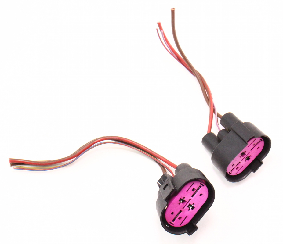 radiator fan wiring plug pigtail connectors 04 06 vw. Black Bedroom Furniture Sets. Home Design Ideas